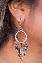 Load image into Gallery viewer, Winslow Winds - Paparazzi Copper Earrings - BlingbyAshleyNicole