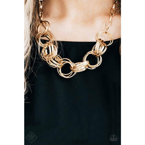 Statement Made - Paparazzi Gold Necklace - BlingbyAshleyNicole