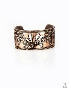 Where The WILDFLOWERS Are - Copper Bracelet - BlingbyAshleyNicole