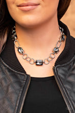 Load image into Gallery viewer, Urban District - Paparazzi Silver Necklace - BlingbyAshleyNicole