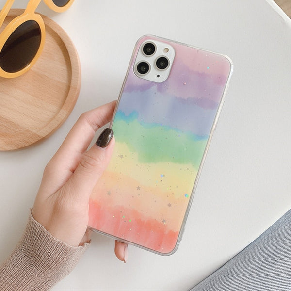 Rainbow Phone Case For iPhone 11 Pro