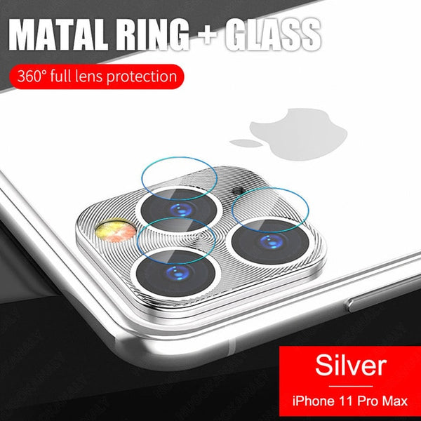 2 in 1 Protector Camera Glass For iPhone 11 Pro Max