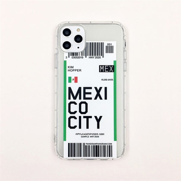 Flag Bar code Label phone case For iphone Xs