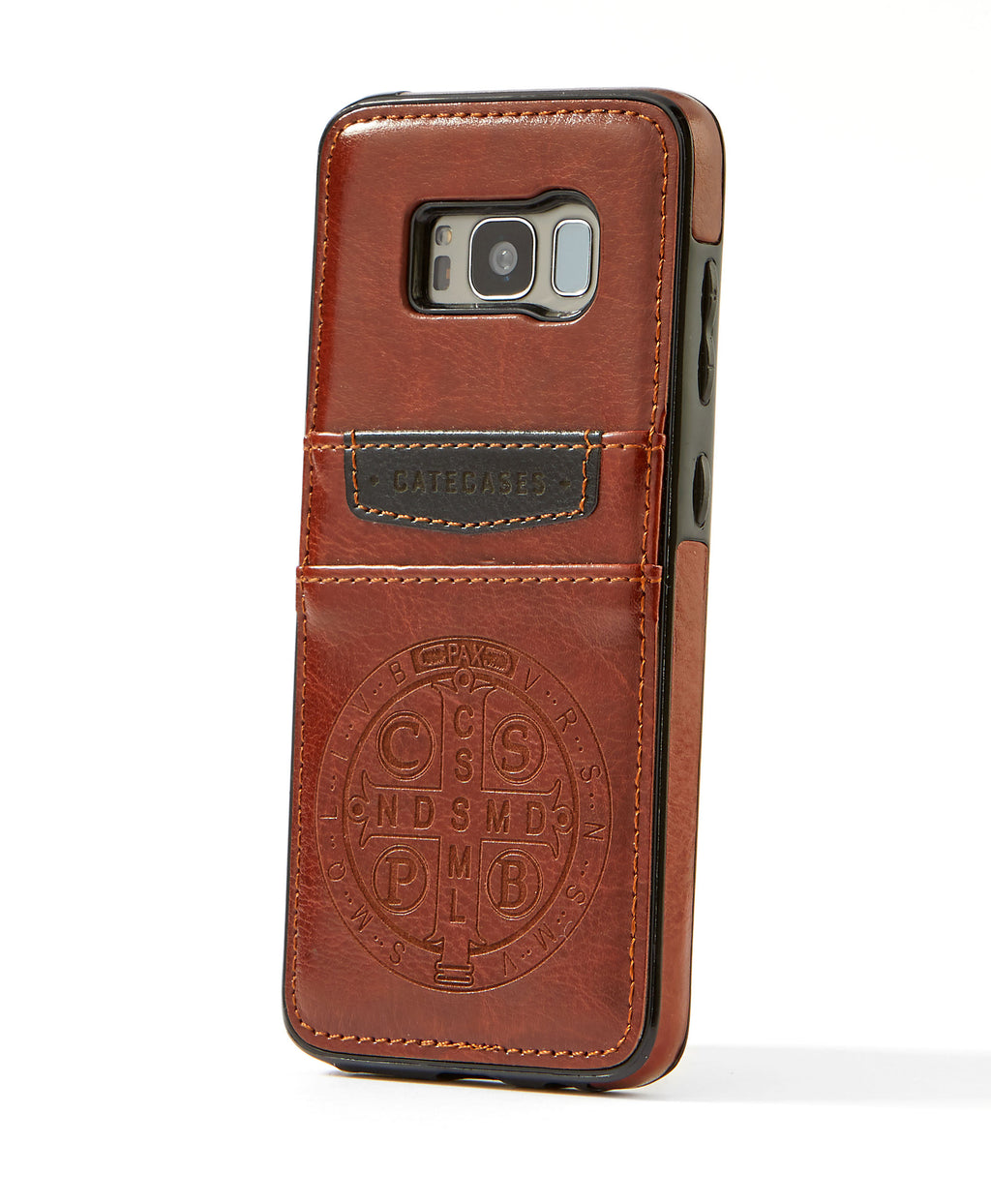 2-Slot Leather Case