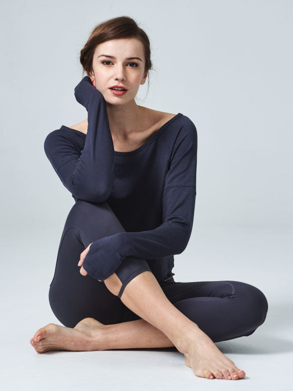 Spirited Long Sleeve Layer Antrazite