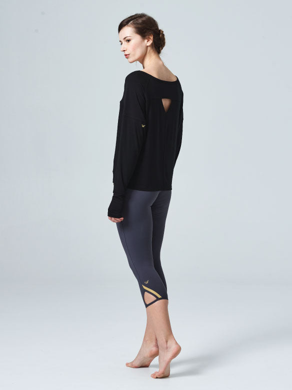 Spirited Long Sleeve Layer Black