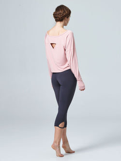Spirited Long Sleeve Layer Mauve