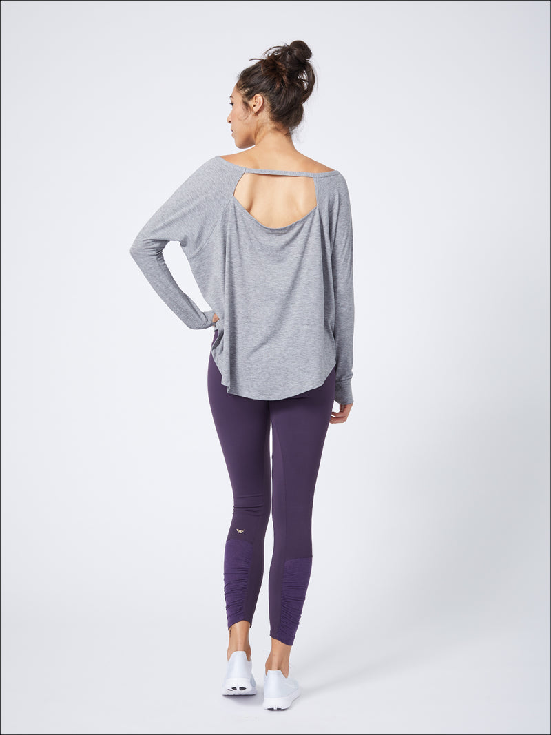 Luxurious Long Sleeve Layer Heather Grey