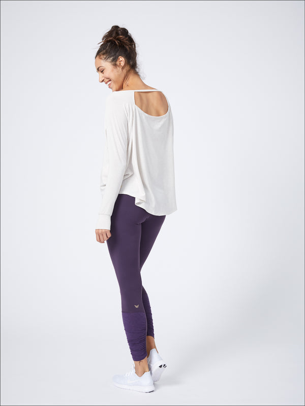 Luxurious Long Sleeve Layer Oatmeal