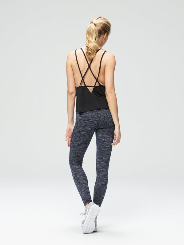 Nimble Loose Tank Black