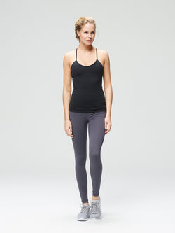 Thrill Support Tank Black