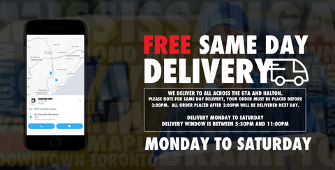 online vape shop FREE same day delivery canada
