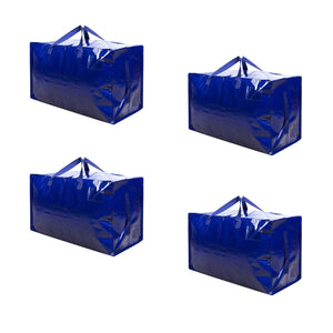 Thick Over-Sized Organizer Storage Bag with Strong Handles and Zippers - Veno