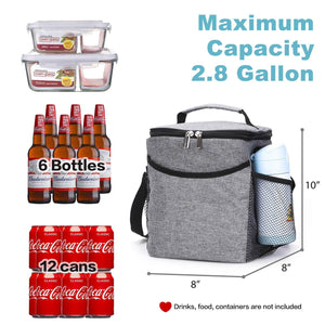 Insulated Lunch Bag, Waterproof Thermal Bento Bag - Veno