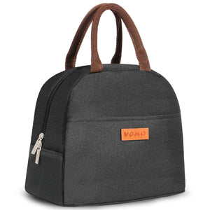Insulated Lunch Bags, Water-Resistant and Durable - Black - Veno