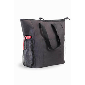 Jumbo ChillOut Thermal Tote, XL Insulated Bag - Black - Veno