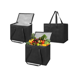 Reusable Insulated Grocery Shopping Bags - Large - Veno
