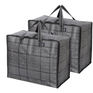VENO Storage Bag, Organizer Bag, Moving bag, 3-Sided Dual Zippers - Veno