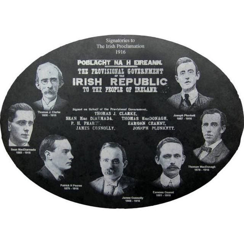 1916 Leaders Oval on Slate