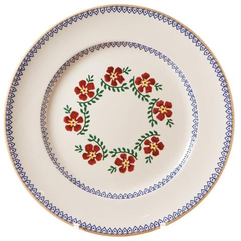 Old Rose Serving Plate by Nicholas Mosse
