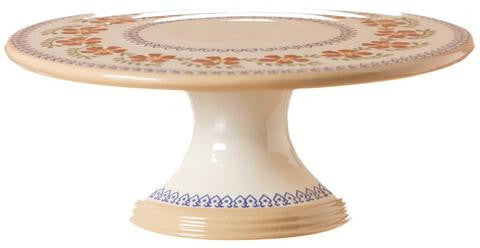 Nicholas Mosse Pottery - Old Rose Pottery Cake Stand