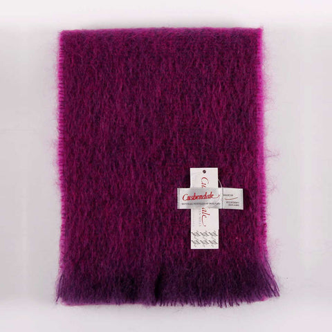 Ladies Brushed Mohair Scarf (Cardinal)