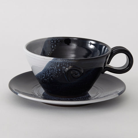 Ocean Cup and Saucer