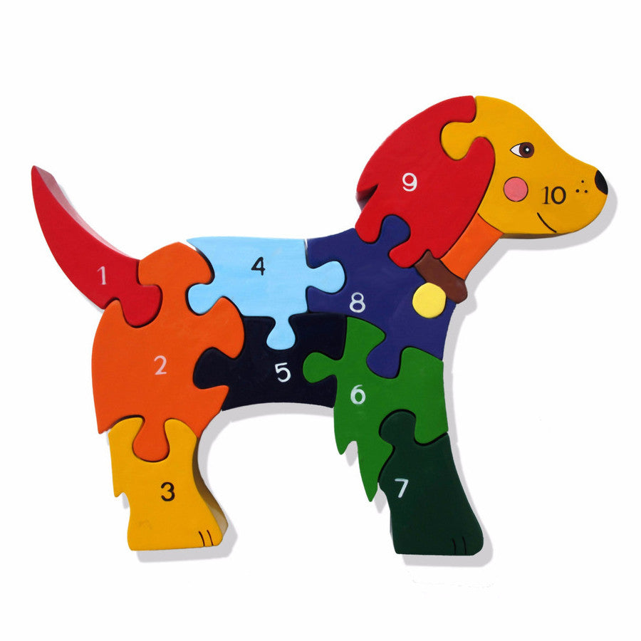 Dog Numbers Jigsaw Puzzle