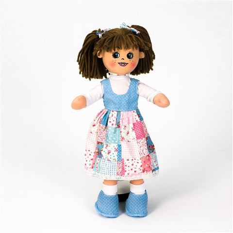 Personalised Ella Rose Rag Doll