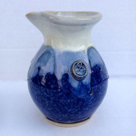 Hampton Blue Cream Jug
