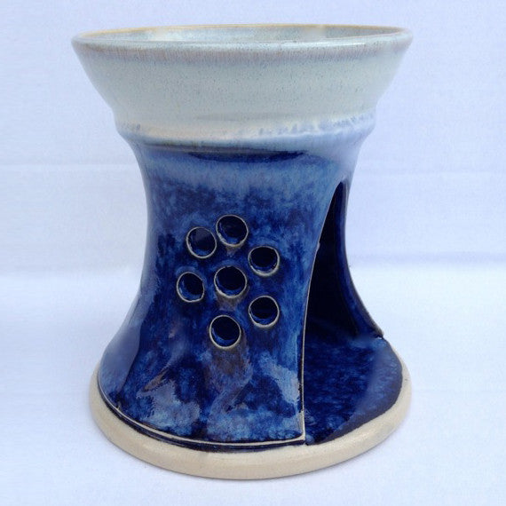 Castle Arch Pottery Hampton Blue Pottery Oil Burner