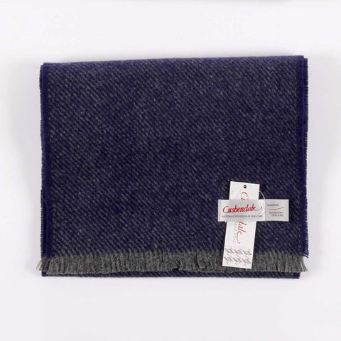 Men's Hunter Lambswool Scarf (Navy)