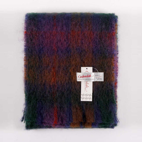 Ladies Brushed Mohair Scarf (Woodland)