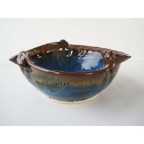 Caspian Blue Newgrange Bowl (Medium)