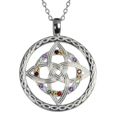 Celtic Colours Pendant