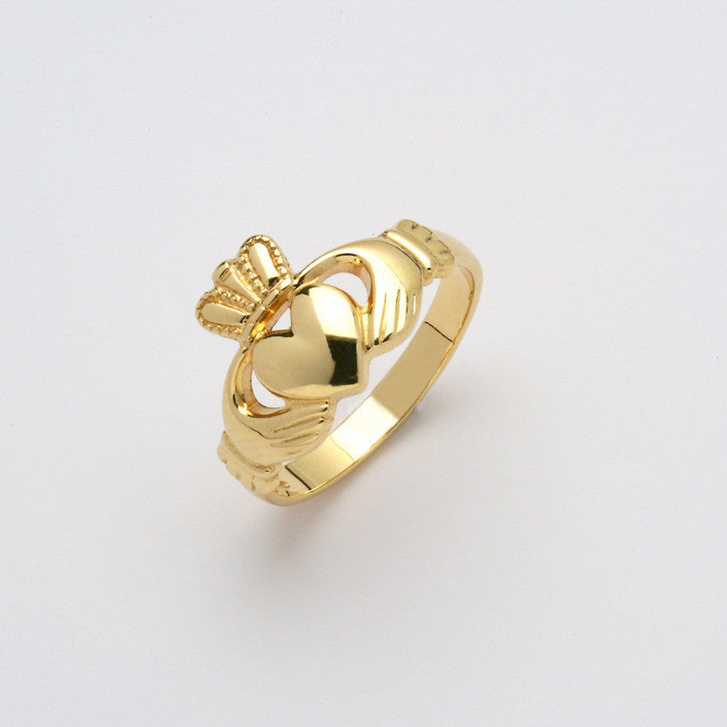 Claddagh Ring 14K Gold (Ladies)