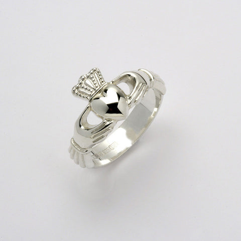 Claddagh Ring Silver (Unisex)