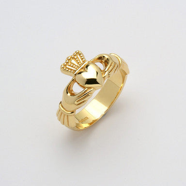 Claddagh Ring 14K Gold Ex Heavy (Gents)