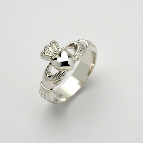 Claddagh Ring Silver Ex Heavy (Gents)