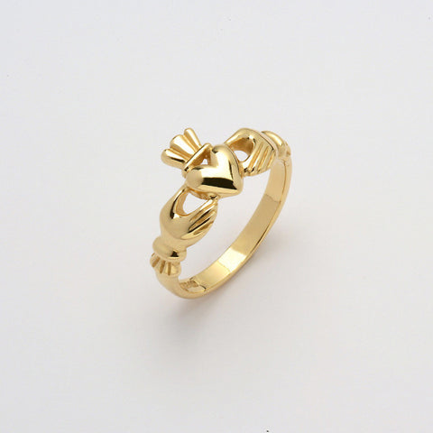 Claddagh Ring Mo Chroi 14K Gold (Ladies)