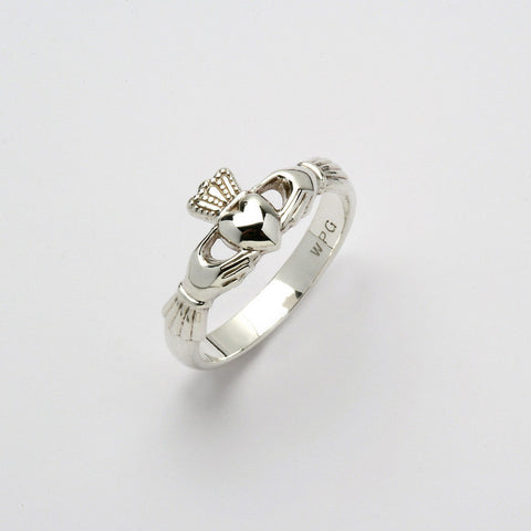 Claddagh Ring Silver Heavy (Ladies)