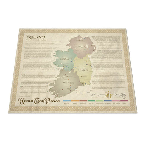 Historical Wall Chart of Ireland