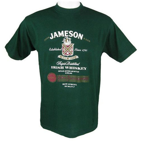 Jameson Irish Whiskey T Shirt Green