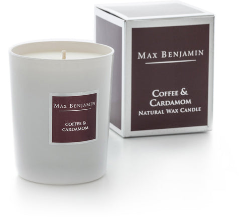 Coffee & Cardamon - Natural Wax Candle by Max Benjamin
