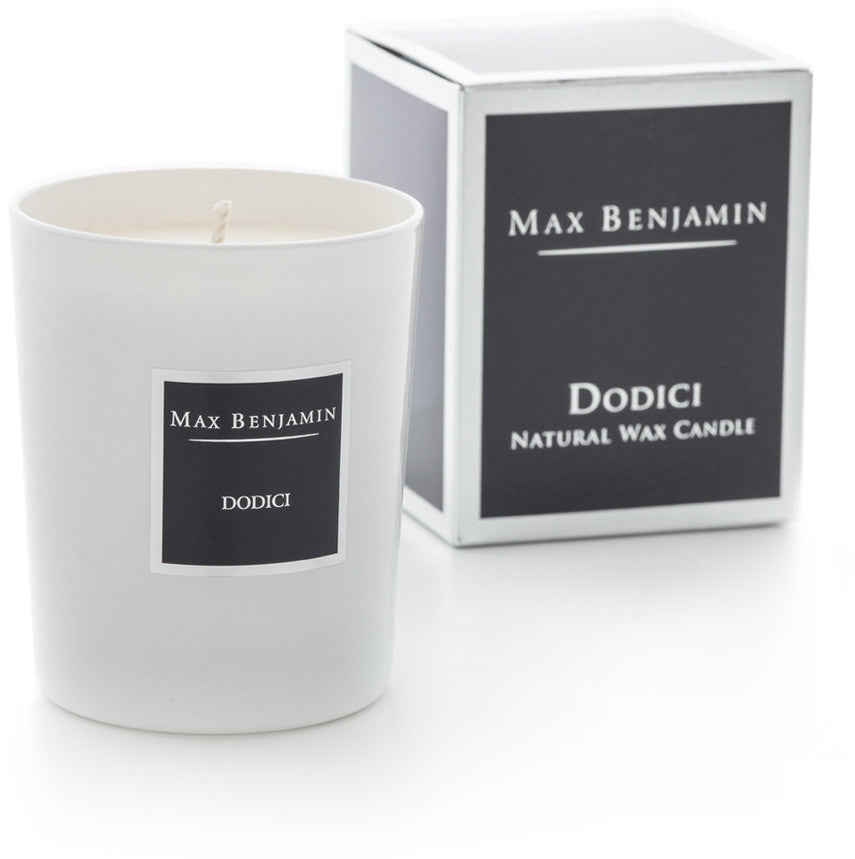 Dodici - Natural Wax Candle by Max Benjamin