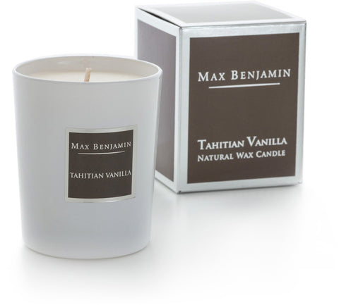 Tahitian Vanilla - Natural Wax Candle by Max Benjamin
