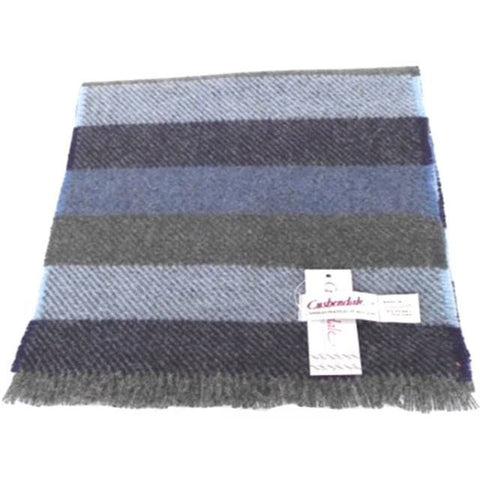 Men's College Lambswool Scarf (Blue)