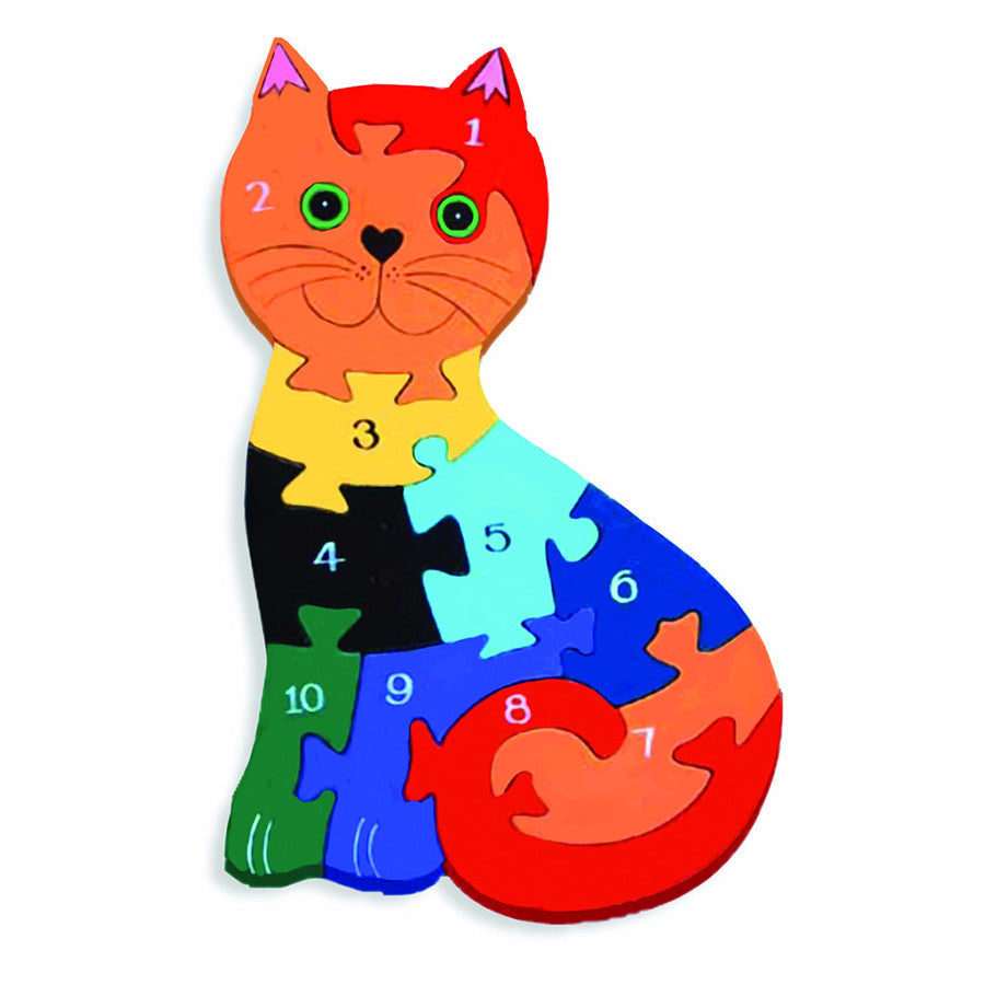 Cat Numbers Jigsaw Puzzle