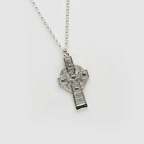 Ogham Ahenny High Cross Silver