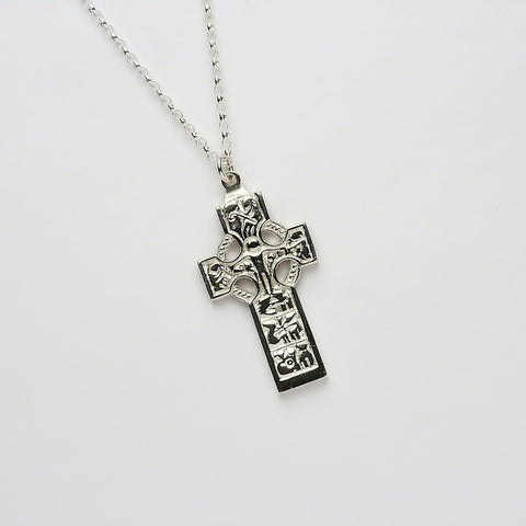 Ogham Duleek High Cross Silver